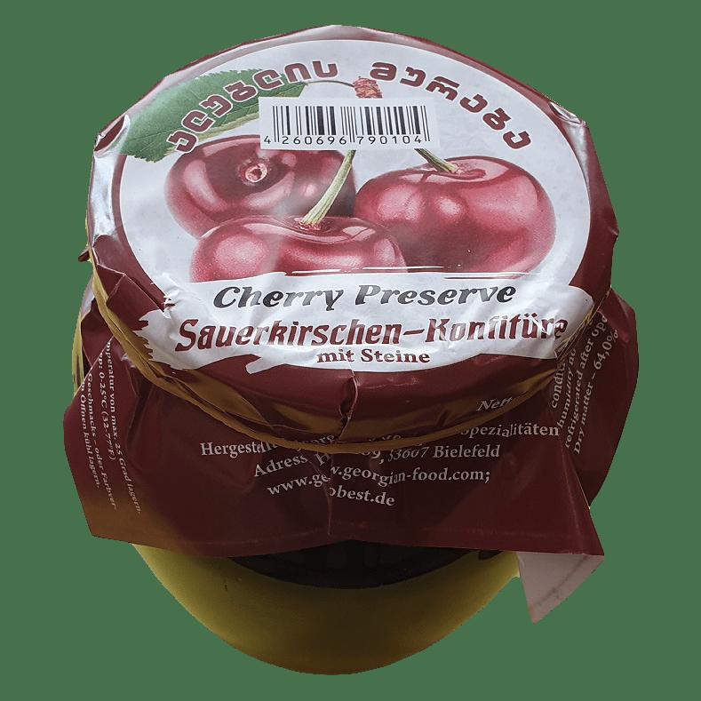 SAUERKIRCHEN MIT KÖRNER KONFITÜRE  650g, GEORGIAN FOOD