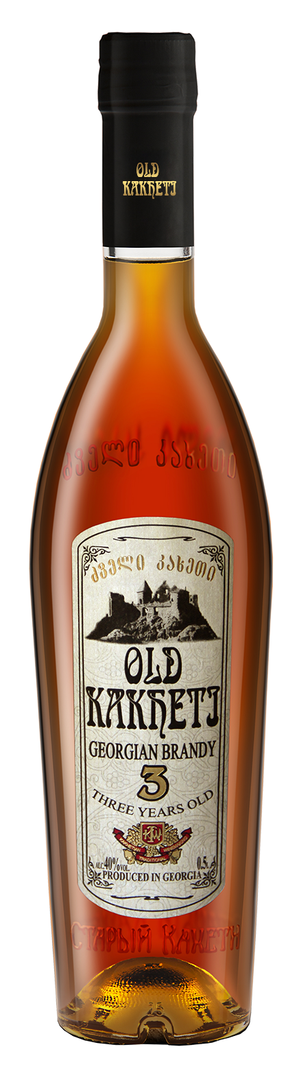 OLD KAKHETI 3 JAHRE GEORGIAN BRANDY