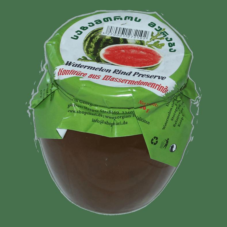 WASSERMELONRINDE KONFITÜRE 650 g, GEORGIAN FOOD